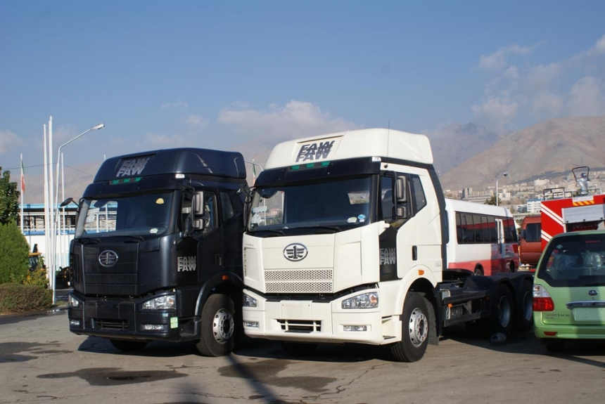 فروش کامیونت 6 تن faw در جنوب ایران