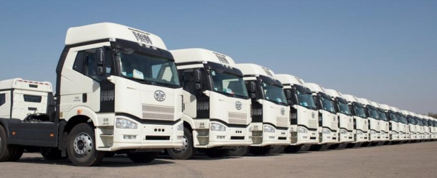 قیمت کامیونهای فاو