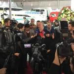 سیبا موتور در نمایشگاه بین المللی حمل و نقل