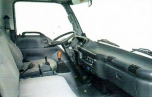 شیلر 6 تن کابین راننده